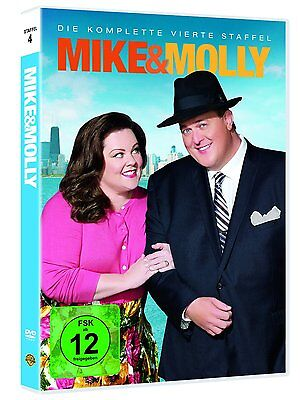 3 DVD-Box ° Mike & Molly ° Staffel 4 ° NEU & OVP