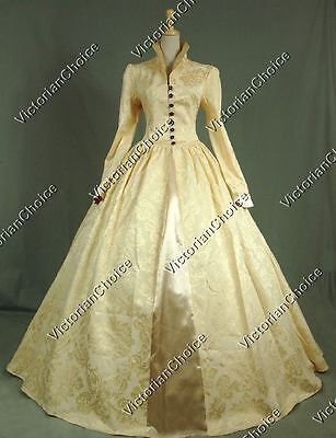 Queen Elizabeth Renaissance Game of Thrones Christmas Dress Theatre Clothing 162