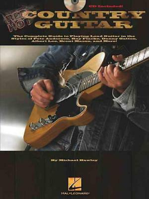 Red Hot Country Guitar - Hawley, Michael - New Paperback Book
