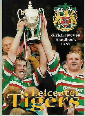 Leicester Tigers 1997/8 Rugby Annual Book