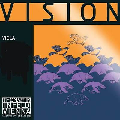 Thomastik - Vision V121 Viola A String Stainless Steel Wound 4/4