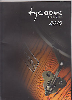 Vintage Musical Instrument Catalog #10435 - 2010 Tycoon Percussion Drums