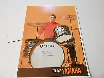 VINTAGE MUSICAL INSTRUMENT CATALOG #10192 -1960s YAMAHA DRUMS