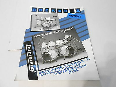 Vintage Musical Instrument Catalog #10159 - Rocker Ii Outfits - Ludwig Drums