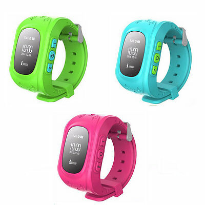 Kids Baby Child Smart Watch GPS GSM Tracker Finder Anti-lost Locator Android IOS