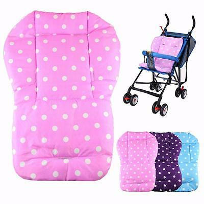 Vintage Baby thickness colorful stroller cushion child cart seat cushion cotton