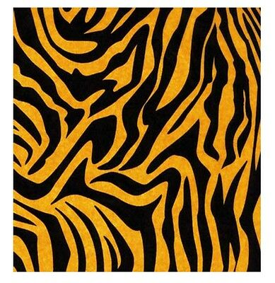TIGER ANIMAL PRINT DESIGN TISSUE PAPER SHEETS - 35cm x 45cm -CHOOSE THE AMOUNT