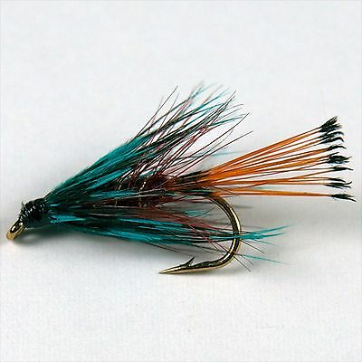 12 KE HE Wet Fly Fishing Trout Flies various options by Dragonflies