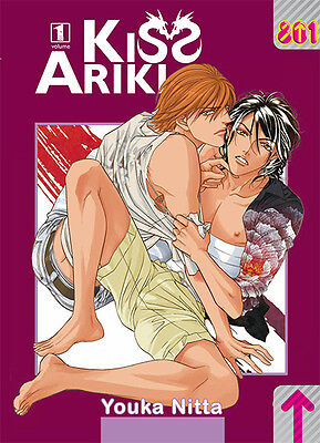 KISS ARIKI da 1 a 2 completa Magic Press 801 manga
