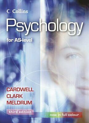 Psychology - Psychology for AS Level by Meldrum, Claire Paperback Book The Cheap