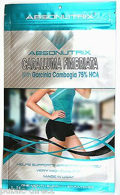 Caralluma Fimbriata Weight Loss PATCH Garcinia Cambogia 75% HCA Extract Diet