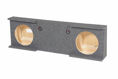 "Rockville Dual 12"" Sub Box for GM/Chevy 2007-2013 1500 Crew Cab 2500HD/3500HD"