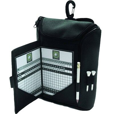 Colin Montgomerie Golf Accessory Bag with Scorecard Holder