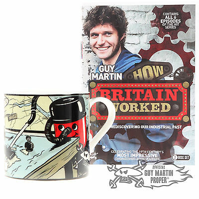 Guy Martin's How Britain Worked DVD & Free Limited Edition Trust No One Mug