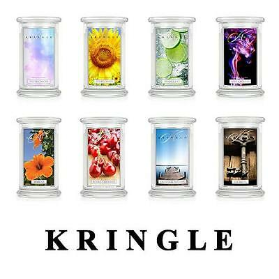Kringle Candle Large Classic Jar Scented 22oz 2-wick Variety - 25% OFF