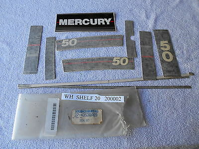 New  37-43538A89  Decal  Set   Quicksilver Mercruiser Mercury