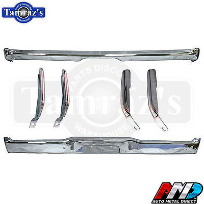 68 69 Dodge Charger Front & Rear Bumper with Bumperettes - AMD Tooling