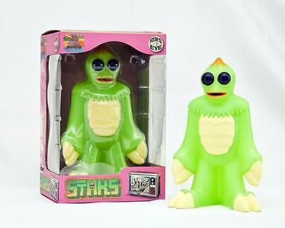 "Staks Gid Glow Edition Sleestak 6"" Vinyl Figure Keirs Eye Land Of The Lost"