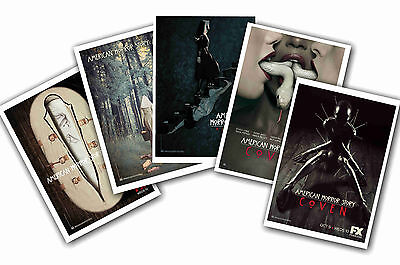American Horror Story - Set Of 5 - A4 Poster Prints # 2