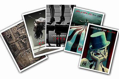 American Horror Story - Set Of 5 - A4 Poster Prints # 3
