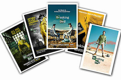 Breaking Bad - Set Of 5 - A4 Poster Prints # 1