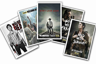 The Walking Dead - Set Of 5 - A4 Poster Prints # 4