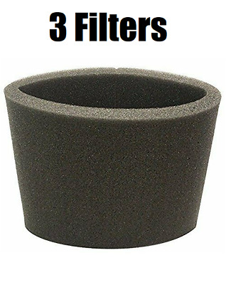 Foam Filter for Shop Vac 90585 Type R 3 FILTERS