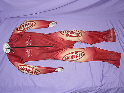 Mt Borah Alpine Padded Speed Suit One Piece Ski Race Racing Speedsuit Adult XS ❆