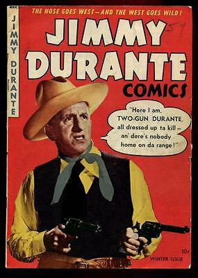 JIMMY DURANTE COMICS #2 (A-1 COMICS #20) Scarce