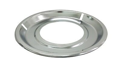 "8-1/4"" Chrome Drip Pan Bowl for Whirlpool Gas Stove Range Burner 19950052"