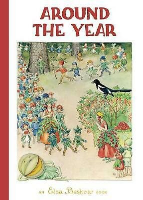 Around the Year by Elsa Beskow Hardcover Book (English)