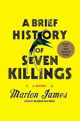 A Brief History of Seven Killings by Marlon James (English) Hardcover Book Free