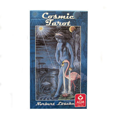 Cosmic Tarot by Norbert Losche 78 Cards Deck with Instructions