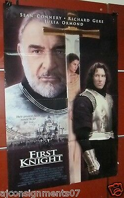 "First Knight (SEAN CONNERY) 40x27"" Double Sided Original Int. Movie Poster 90s"