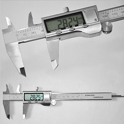 "300mm 12"" Electronic Digital Vernier Caliper LCD Gauge Stainless Steel with Case"