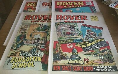 5 Rover Comics, 1967, Full Month