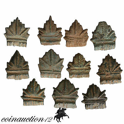 Nice Collection Of 11 Roman Bronze Home Decorations Appliques