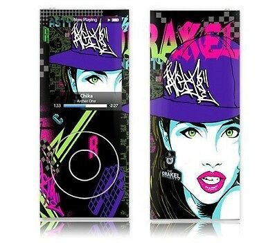 MusicSkins Sticker pour iPod nano 4G Motif Archer One Chika [Black, NEUF