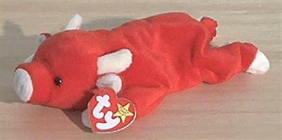 Ty Beanie Baby 'SNORT' the Bull NM with Tag - pre-owned