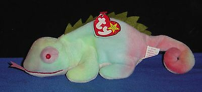 Ty Beanie Baby IGGY (RAINBOW) with Tag - 5th Generation - pre-owned