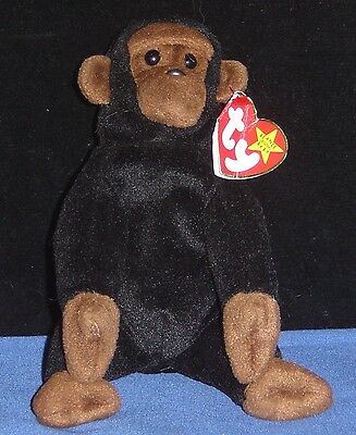 TY Beanie Baby 'CONGO' Monkey with Tag - 5th Generation - pre-owned