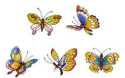 10 Oriental Butterflies Butterfly Waterslide Ceramic Decals Bx