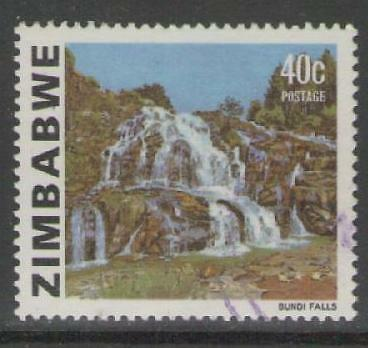 ZIMBABWE SG588a 1980 40c DEFINITIVE FINE USED