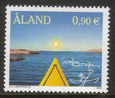 Aland Mnh 2002 Sg219 Celebrity Stamp