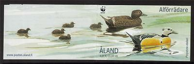 Aland Mnh 2001 Endangered Species - The Steller's Eider Booklet