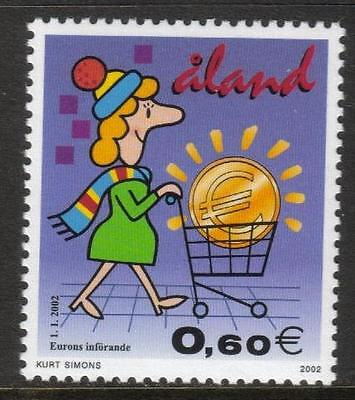 Aland Mnh 2002 Sg210 Euro Currency
