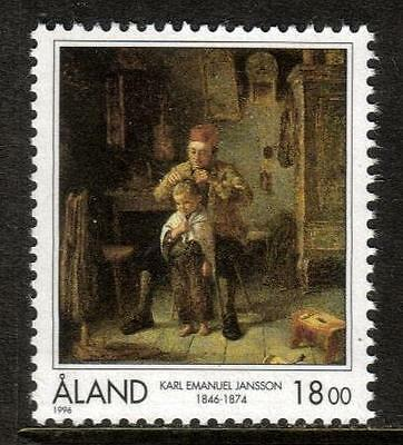 Aland Mnh 1996 Sg112 150Th Birth Anv Of Karl Jansson