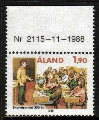 Aland Mnh 1989 Sg39 350Th Anv Of Education System