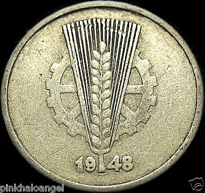 East Germany - DDR -  German 1948A 10 Pfennig Coin - Great Coin - S&H Discounts!