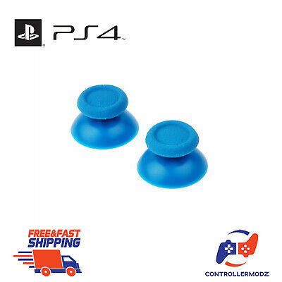 2 x Analogue Replacement Thumb sticks Sony PS4 Analog Controllers - Light Blue